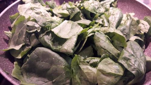 1 - Spinacino in cottura